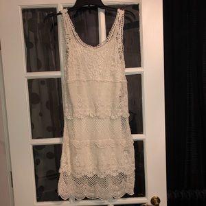 American Eagle cream dress
